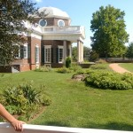 Sideview of Monticello