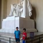 Lincoln Memorial.